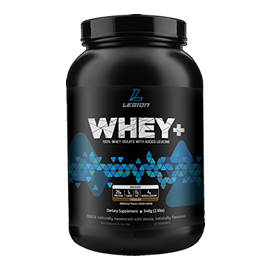 Legion supplements whey isolate protein powder.