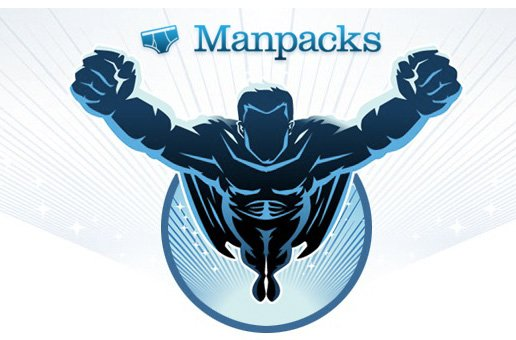 man packs