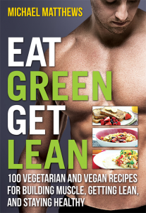 Cover for cookbook Eat Green Get Lean
