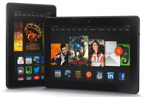 Kindle Fire HDX.