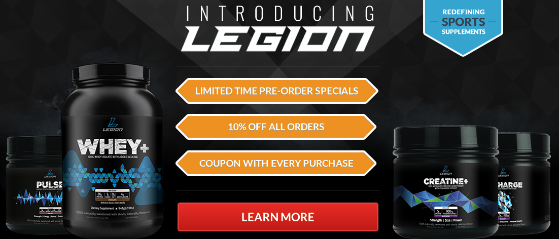 LEGION is Now Accepting Pre-Orders! Limited-Time Exclusive Discounts!