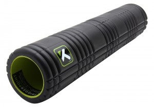 Foam roller exercise.