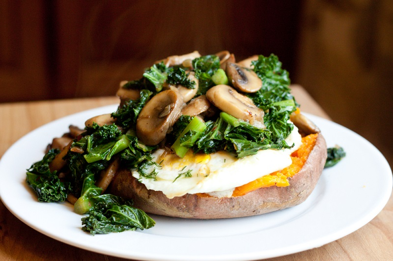 Recipe of the Week: Fully Loaded Baked Sweet Potato