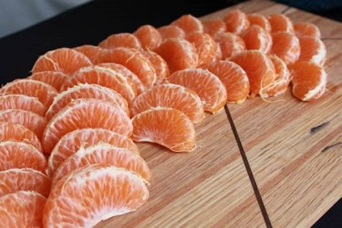 mandarain-slices