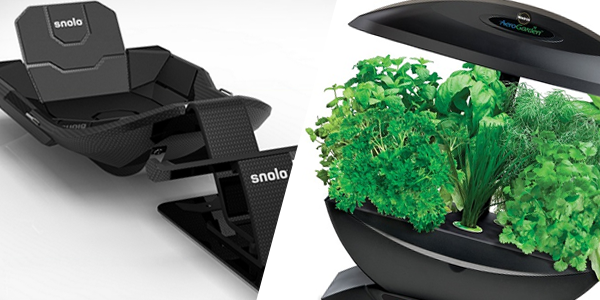 Cool Stuff of the Week: Snolo Snow Sled, AeroGarden, Tovolo Ice Molds, and More…
