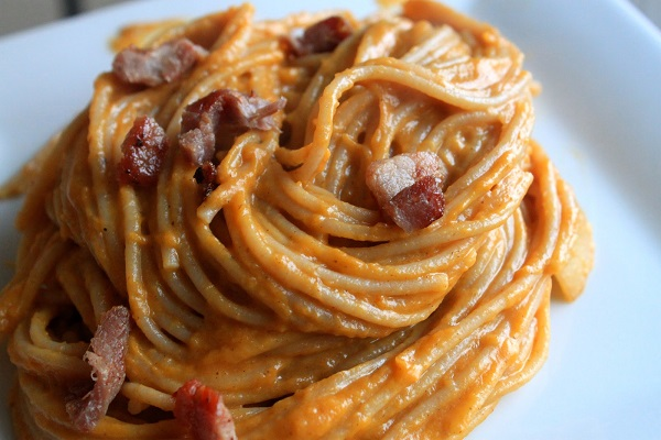 squash-bacon-pasta