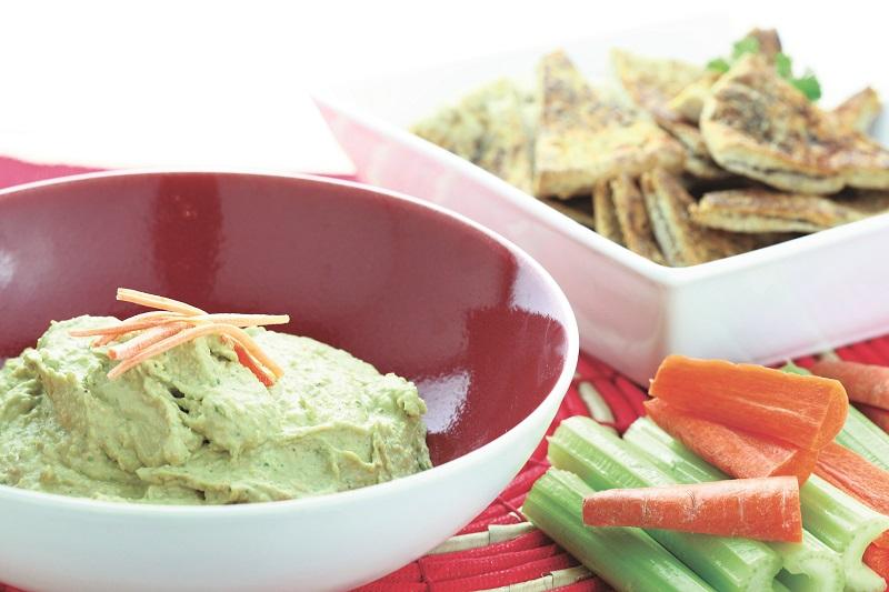 Recipe of the Week: Vegetable Hummus