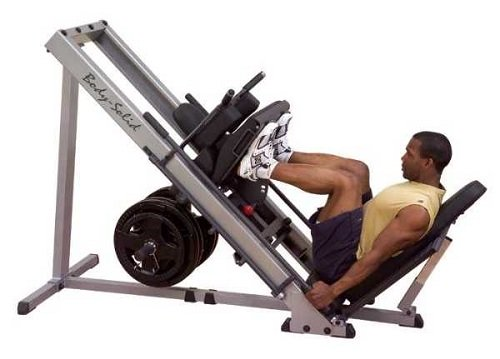 leg press leg workout