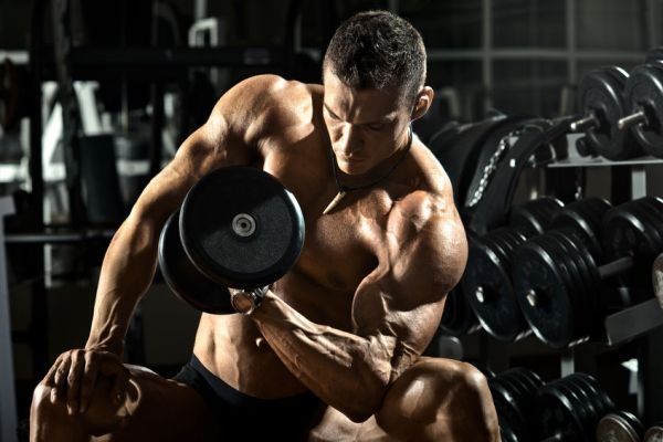 best arm exercises men