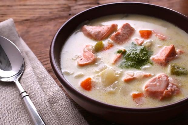 salmon-chowder