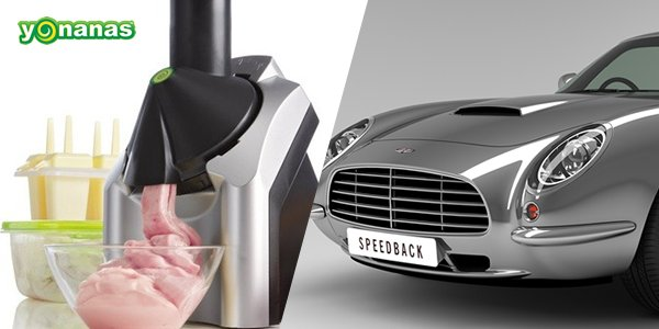 Cool Stuff of the Week: Yonanas Ice Cream, Speedback GT, Rounders, and More…