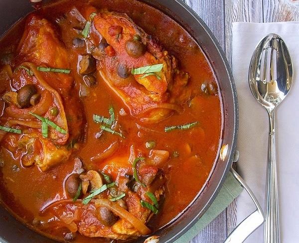 Recipe of the Week: Chicken Cacciatore