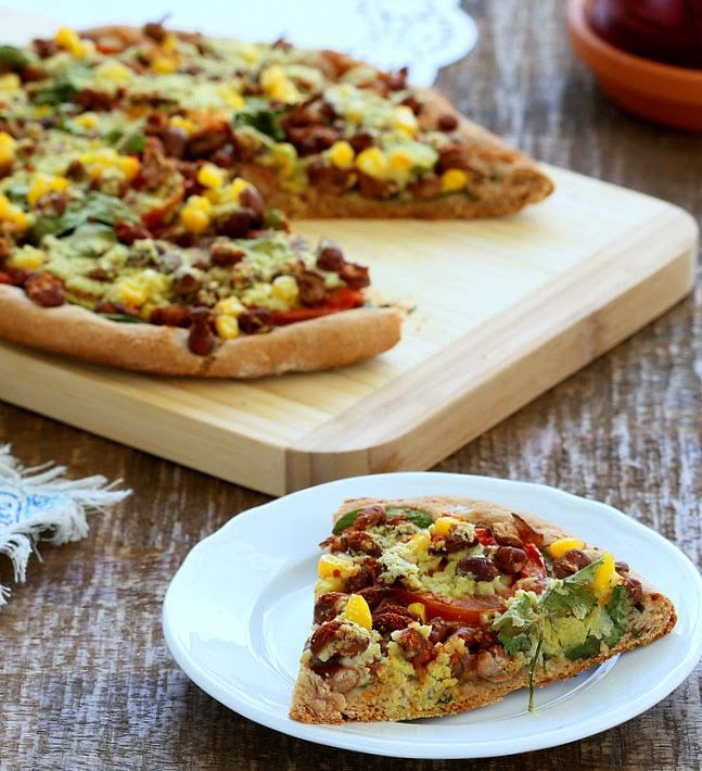 health pizza recipe