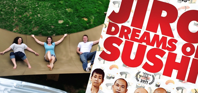 Cool Stuff of the Week: Mega Hammock, Jiro Dreams of Sushi, Slingbox M1, and More…