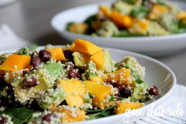 healthy vegetable salad recipes