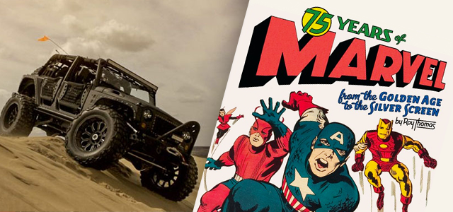 Cool Stuff of the Week: Full Metal Jacket Jeep, 75 Years of Marvel, Downfall, and More…