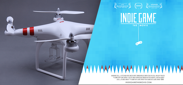 Cool Stuff of the Week: Phantom Quadcopter, Indie Game: The Movie, Coffee Cubes, and More…