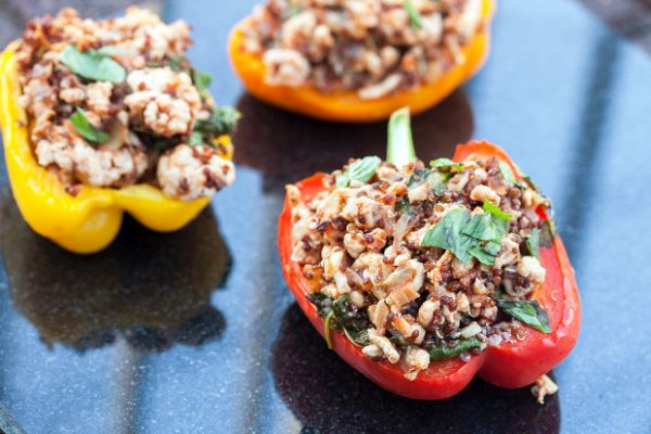 ground-turkey-quinoa-stuffed-peppers