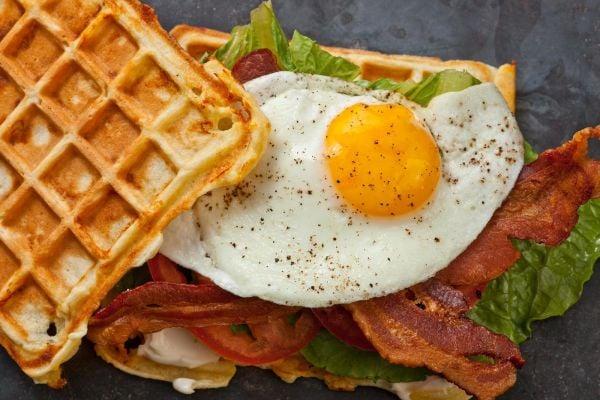 healthy-blt-waffle