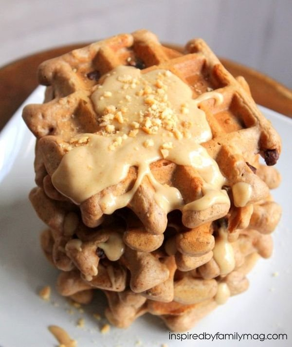 healthy-chocolate-belgian-waffles