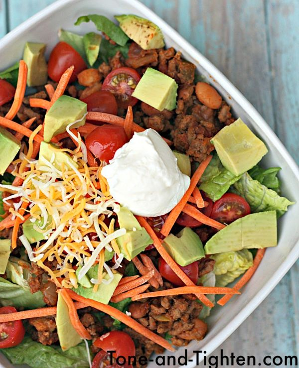 Ground-Turkey-Taco-Salad-Recipe