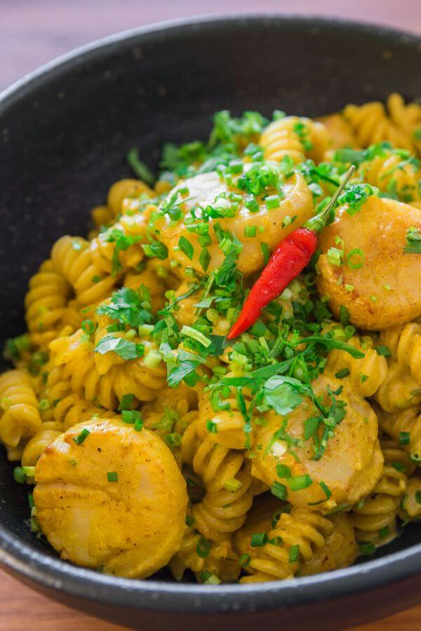 curry-scallop-pasta-recipe