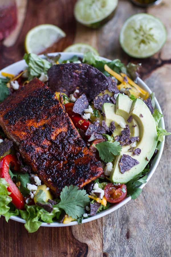salmon-fajita-salad-recipe