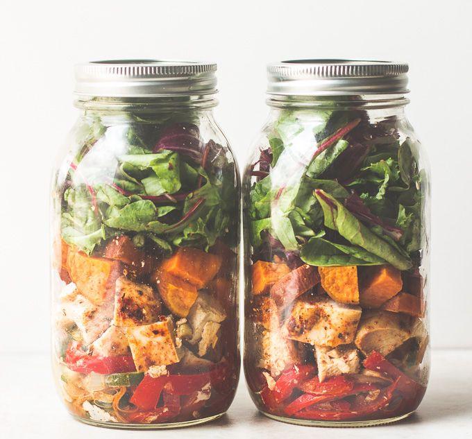 southwestern-chicken-fajitas-salad-recipe