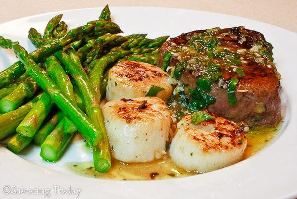steak-and-scallop-scampi-recipe