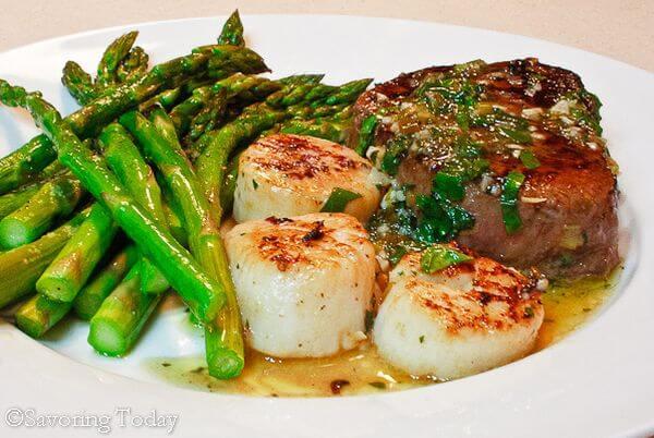 steak-and-scallop-scampi-recipe