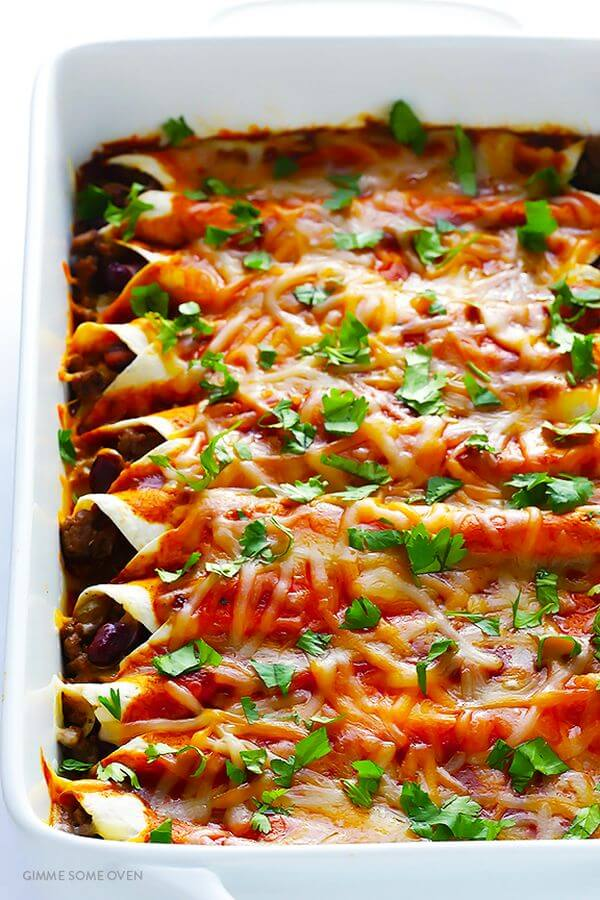 Mexican-beef-enchiladas