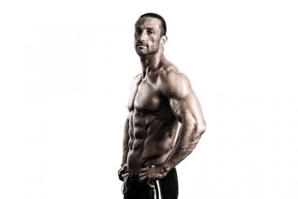 build muscle lose belly fat