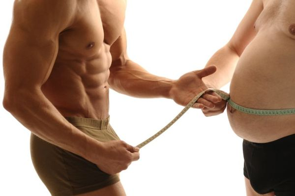 build muscle lose belly fat same time
