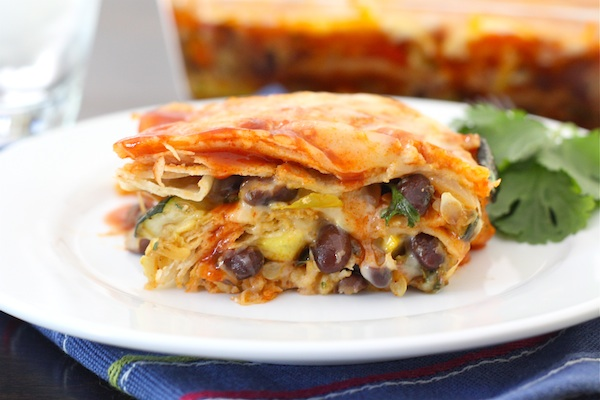 mexican-vegetable-enchiladas