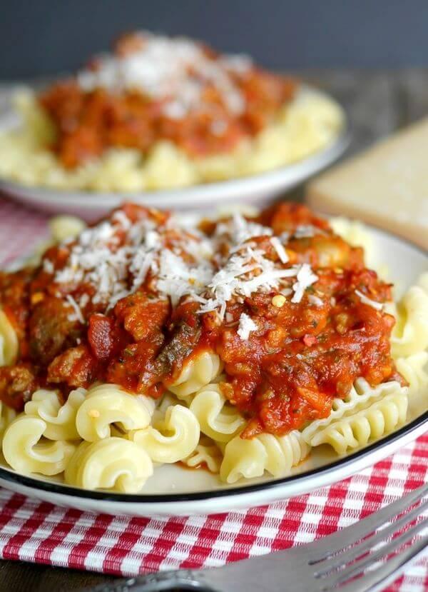 Italian-sausage-pasta