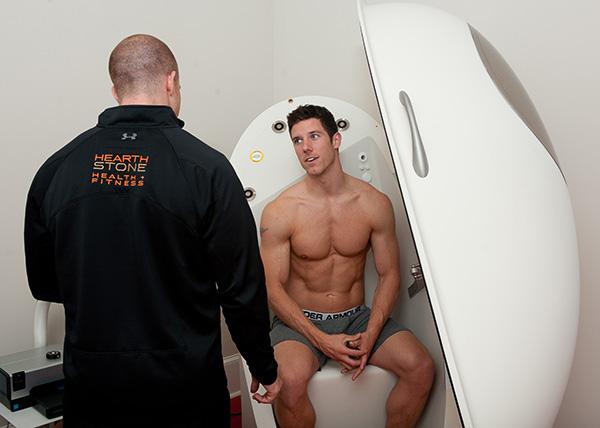 body composition test bod pod