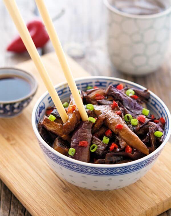 Chinese eggplant recipe