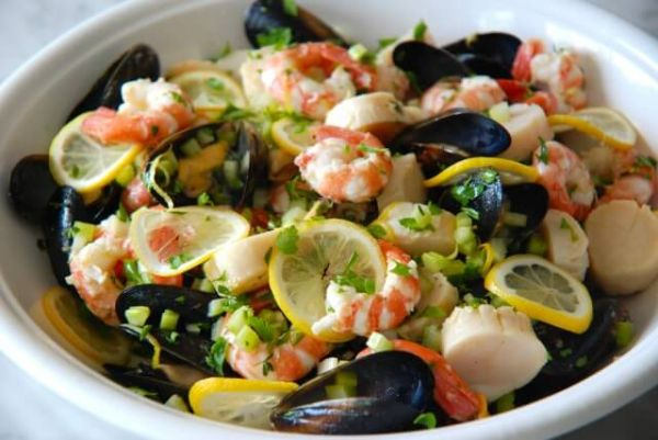 Greek seafood recipes
