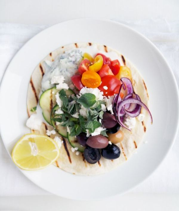 Greek taco recipe