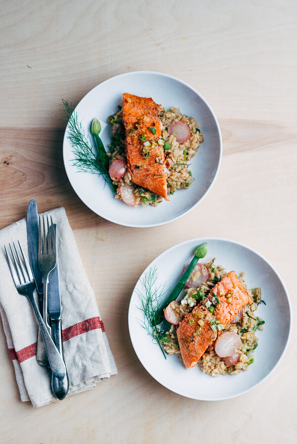 broiled salmon recipe