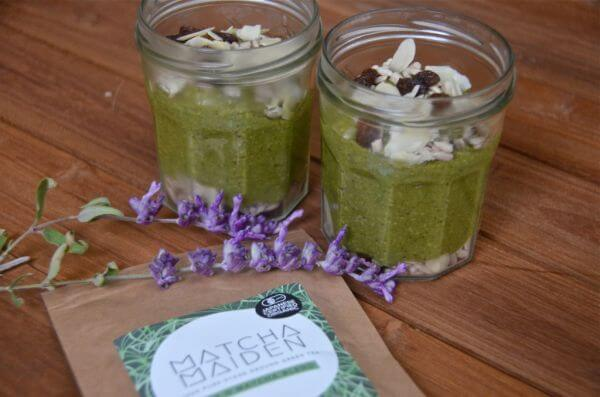matcha pudding recipe
