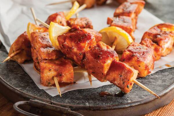 salmon kabobs recipe
