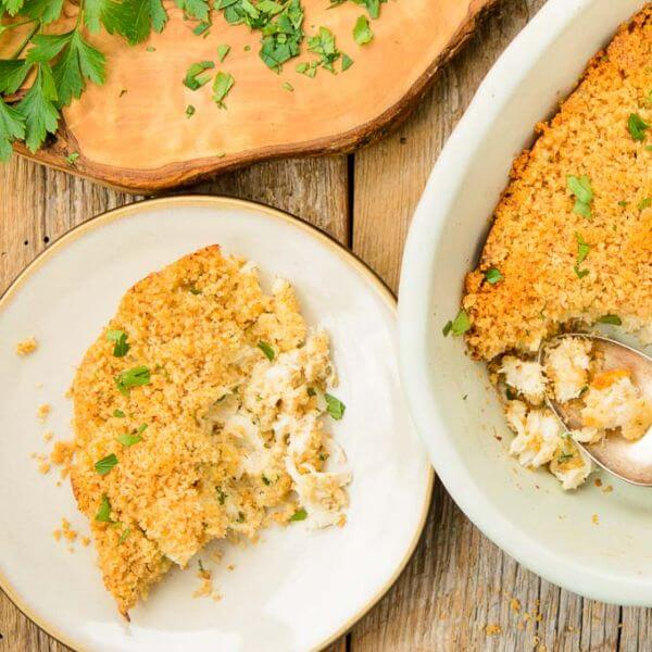 seafood casserole for two