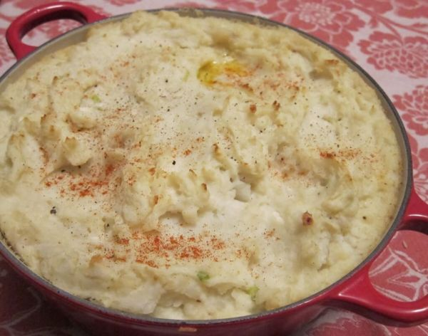 cottage cheese mashed potatoes