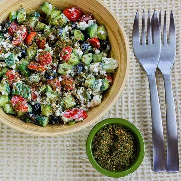 healthy cottage cheese salad