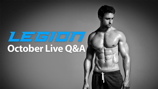 Live Q&A: Proper form, lagging muscles, bulking tips, and more…
