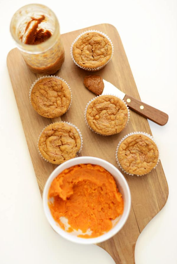 sweet potato muffin recipe