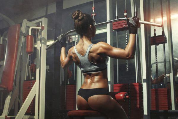 best back toning exercises