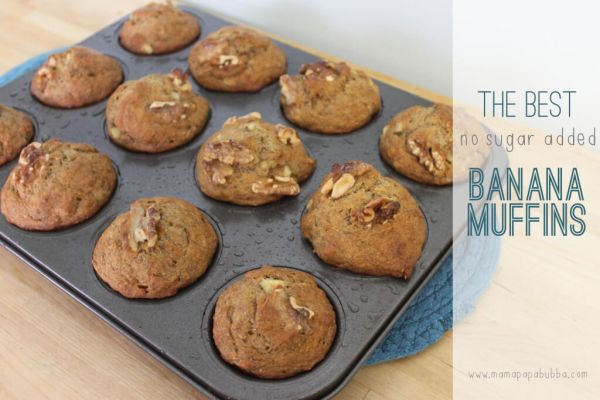 healthy banana muffin recipe