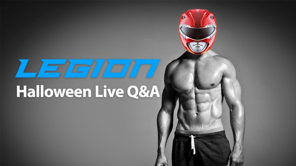 "October ""Red Ranger"" Live Q&A (in My Halloween Costume!)"